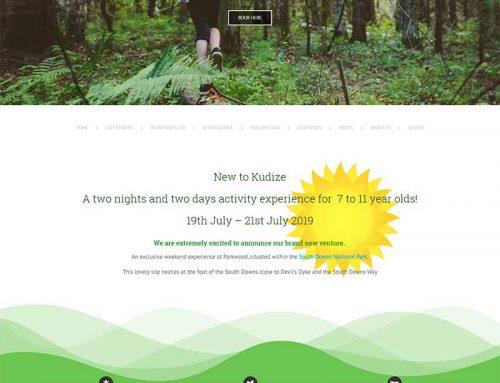 Kudize Landing Page
